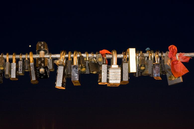Free Stock Photo of love locks Created by 2happy