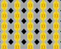 Free Photo - Black and yellow pattern