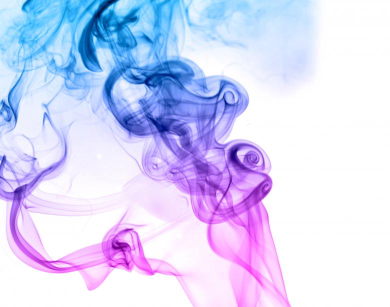 Free Stock Photo of Blue and Violet Smoke Background Created by 2happy
