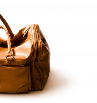 Leather bag - Free Stock Photo