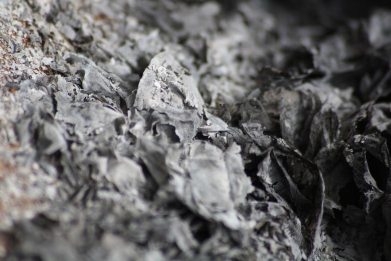 Free Stock Photo of Burnt paper ashes Created by madzindia
