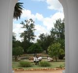 Free Photo - Garden through an arch