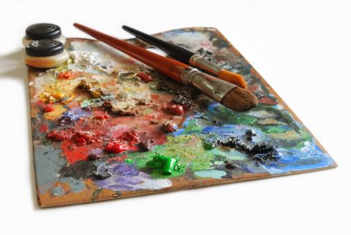 Artistic palette - Free Stock Photo
