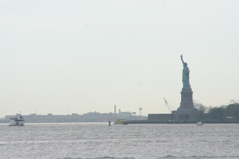 Free Stock Photo of Statue of Liberty Created by Chris Adzima
