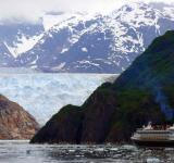 Free Photo - Cruise Ship in Tracy Arm