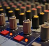 Free Photo - Buttons on mixing board
