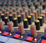 Free Photo - Buttons on an audio mixing board