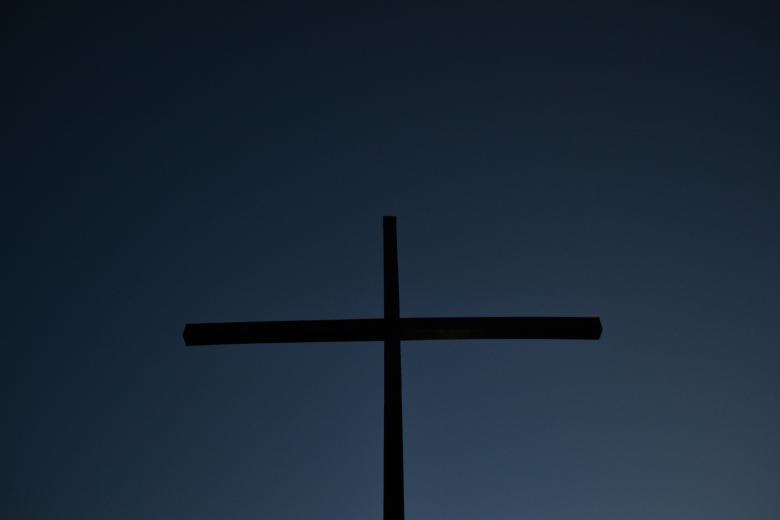 Free Stock Photo of Cross Created by Tilen Hrovatic