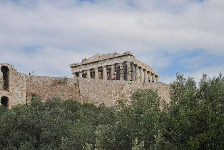 Free Stock Photo of Greek Temple Created by Miguel Salazar