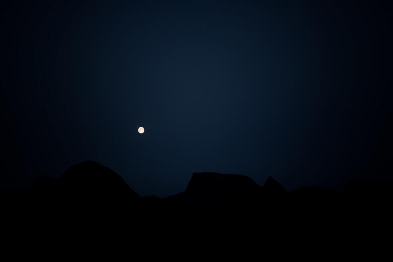 Free Stock Photo of Dark Landscape Created by Bjorgvin