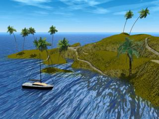 Download 3D Island Free Photo