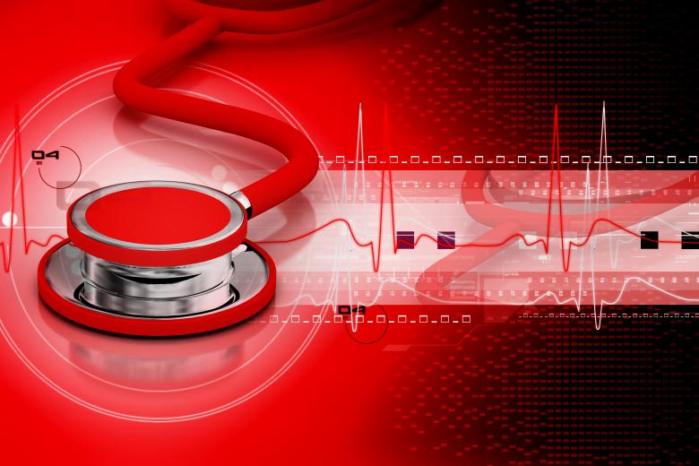 Free Stock Photo of Stethoscope - Red Medical Illustration Created by renjithkrishnan.r