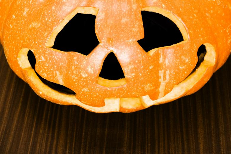 Free Stock Photo of Jack O'lantern Halloween Pumpkin Created by 2happy