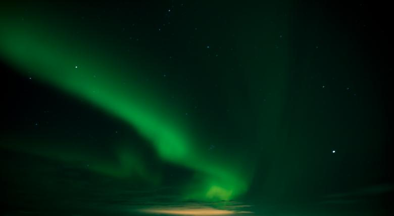 Free Stock Photo of Northen Lights Created by Bjorgvin