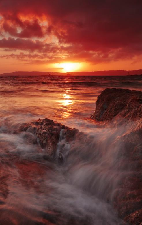 Free Stock Photo of Sunset coast Created by Andy Fox