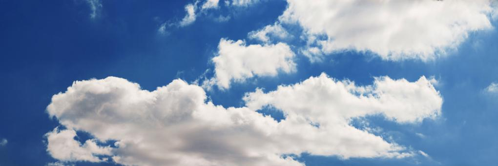 colorful bright blue sky background  - Free Stock Photo