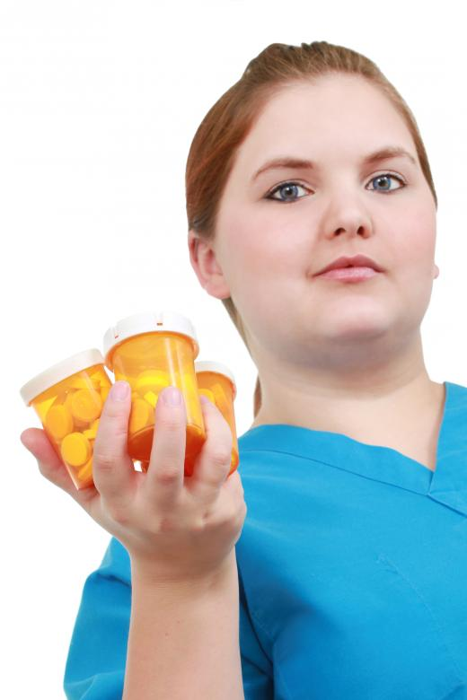 Free Stock Photo of Nurse with medicine Created by Val Lawless