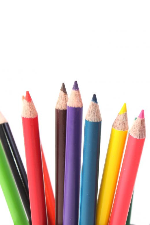 Free Stock Photo of Multicolor Crayons Created by Val Lawless