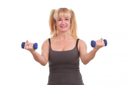 Woman exercising - Free Stock Photo
