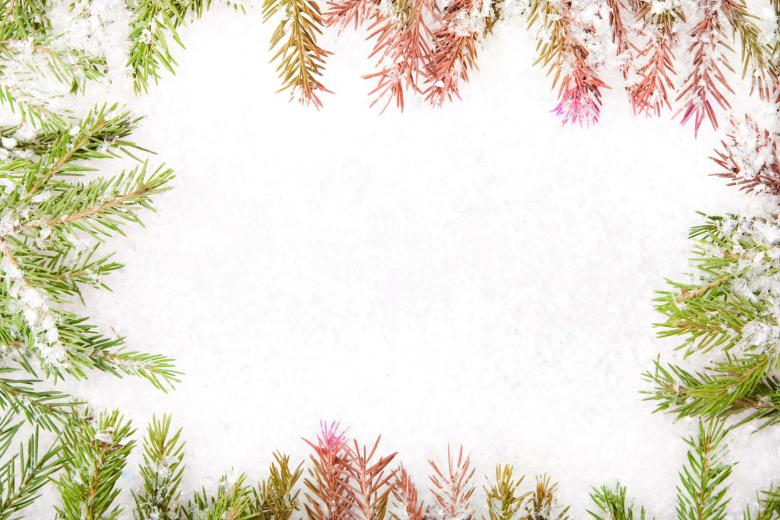 Free Stock Photo of Christmas Frame Created by 2happy