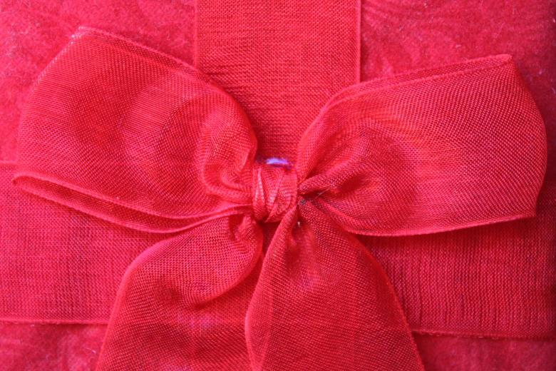Free Stock Photo of Red bow Created by Val Lawless