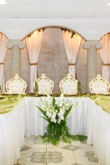 Wedding table - Free Stock Photo
