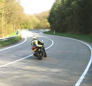 Download Riding the Curves of the Eifel region Free Photo