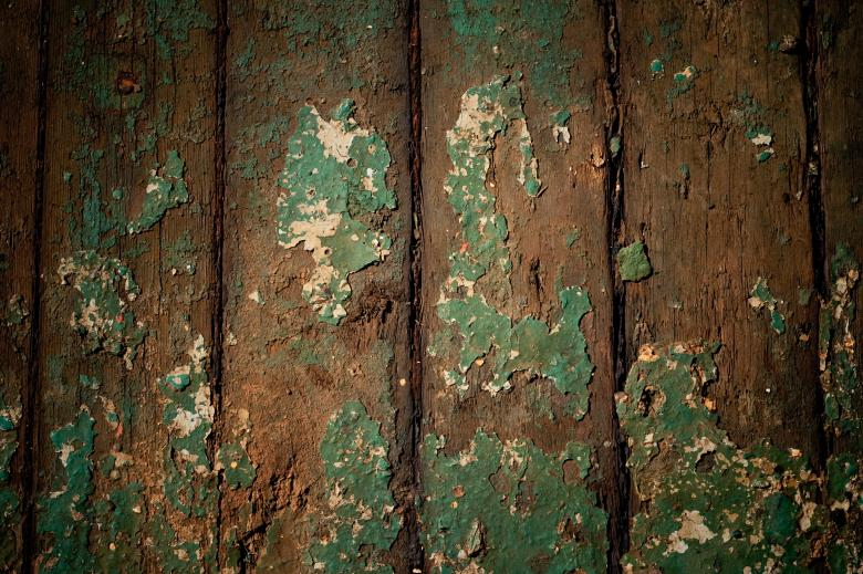 Gritty Paint on Wood - Free Grunge Backgrounds