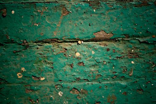 Gritty Paint on Wood - Free Stock Photo