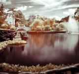 Infrared lake - Free Stock Photo