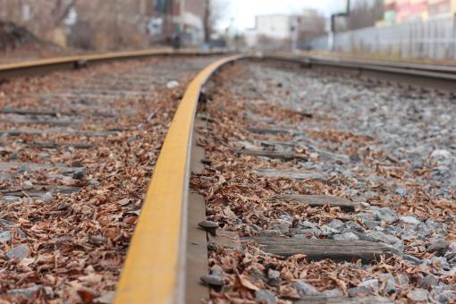 Train tracks - Free Stock Photo