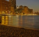 Free Photo - Chicago at night