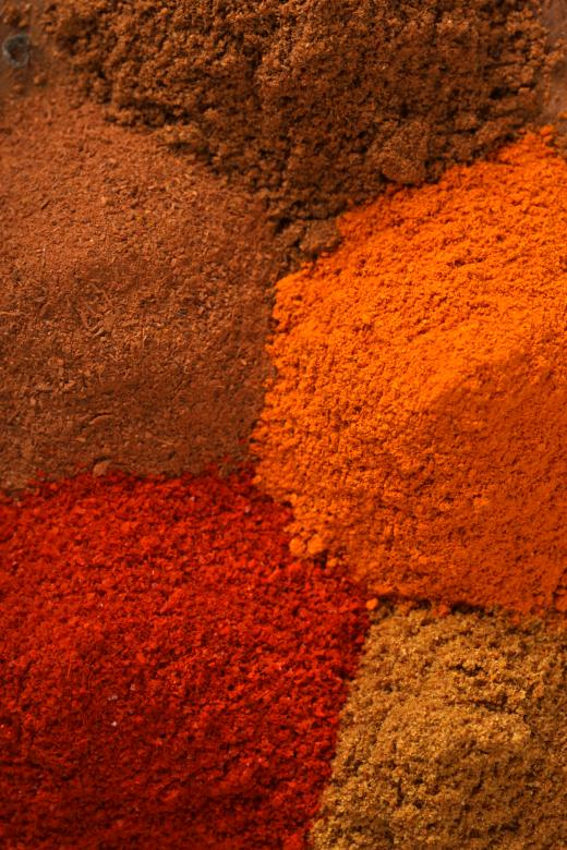 Free Stock Photo of Spices Background Created by Janaka Dharmasena