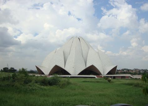 Lotus Temple - Free Stock Photo