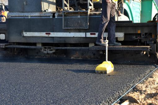 Asphalt paving - Free Stock Photo