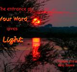 Free Photo - God's Word Gives Light