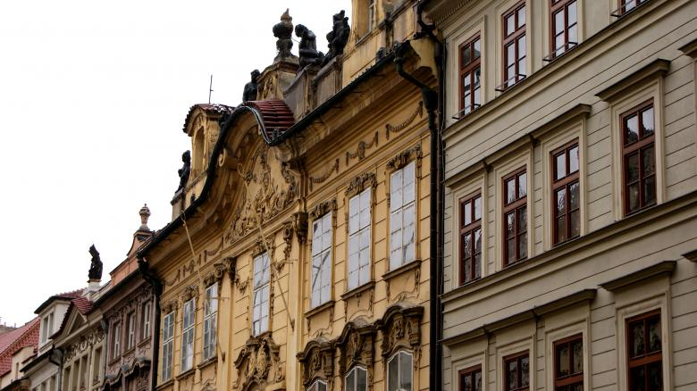 Free Stock Photo of Prague House 3 Created by Anna Em
