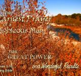 Free Photo - Earnest Prayer Gives Good Results