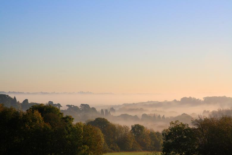 Free Stock Photo of Morning mist Created by paul clifton