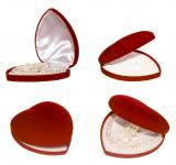 Free Photo - heart shaped red box
