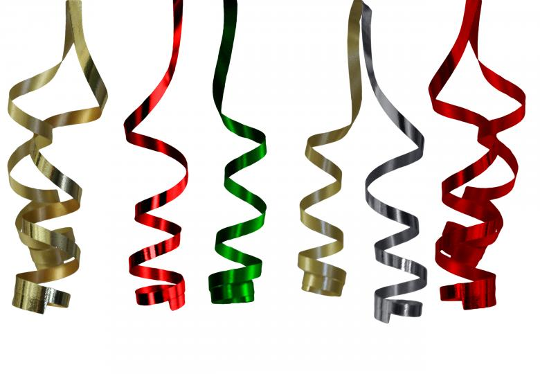 Ribbons - Free Christmas Stock Photos