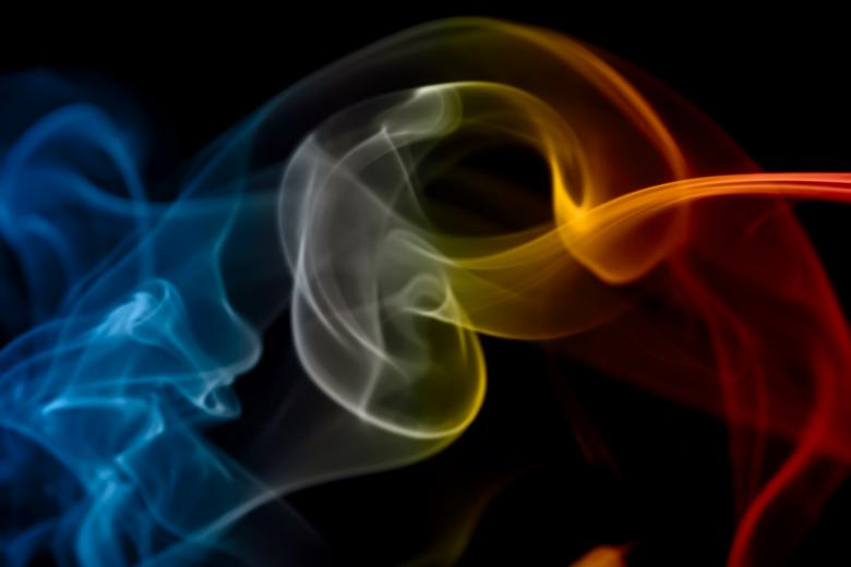 Free Stock Photo of color smoke Created by 2happy