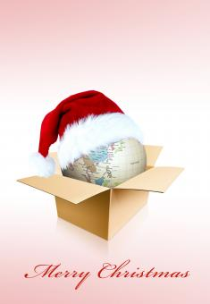 Christmas Globe - Free Stock Photo