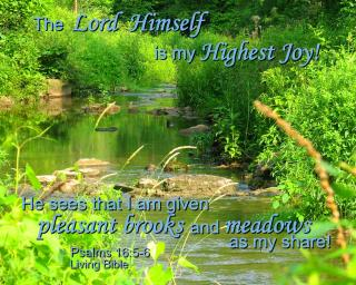 God Is My Highest Joy Free Photo