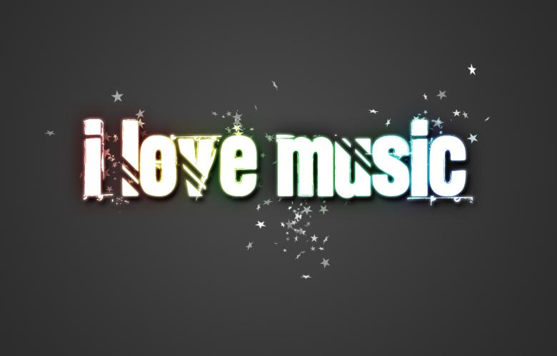 I love Music Free Photo