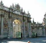 Free Photo - Ornate main gate of the Sultan palace
