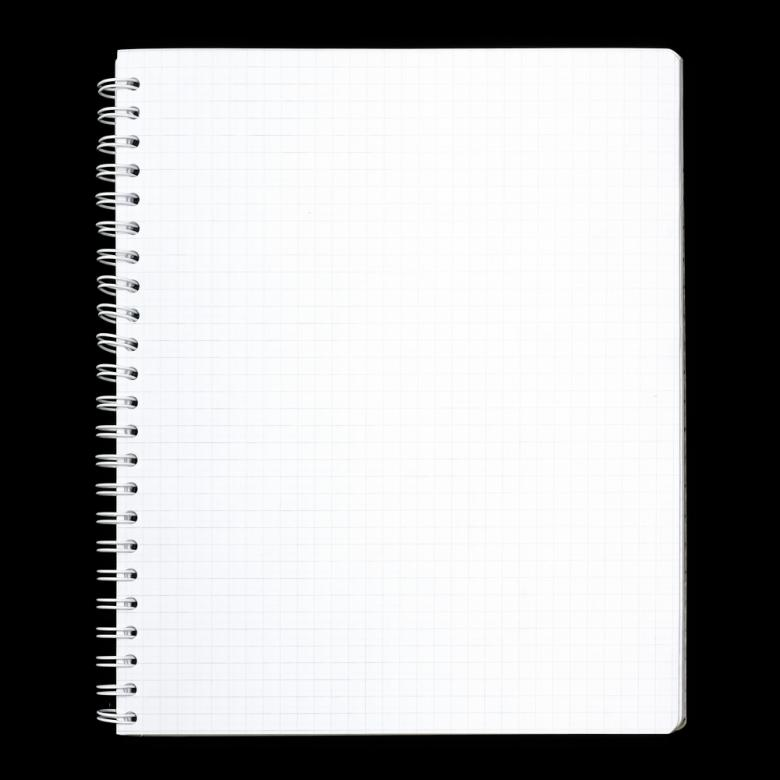 Free Stock Photo of White Notebook Page Created by 2happy