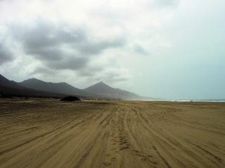 Huge Cofete Beach in Fuerteventura Free Photo