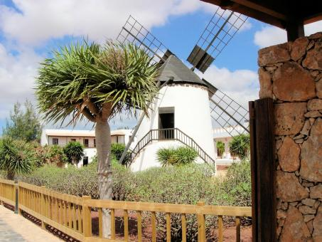 Traditional Windmill in Fuerteventura - Free Stock Photo