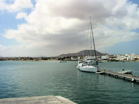Port in Fuerteventura in The Canary Isla - Free Stock Photo